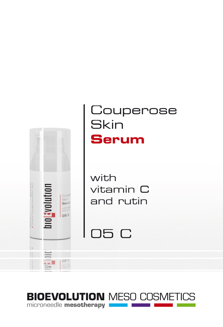 Couperose Skin Serum with Vit.C and Rutin 30 ml